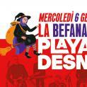 La Befana Benefica: Playa Desnuda in streaming per le famiglie in difficoltà